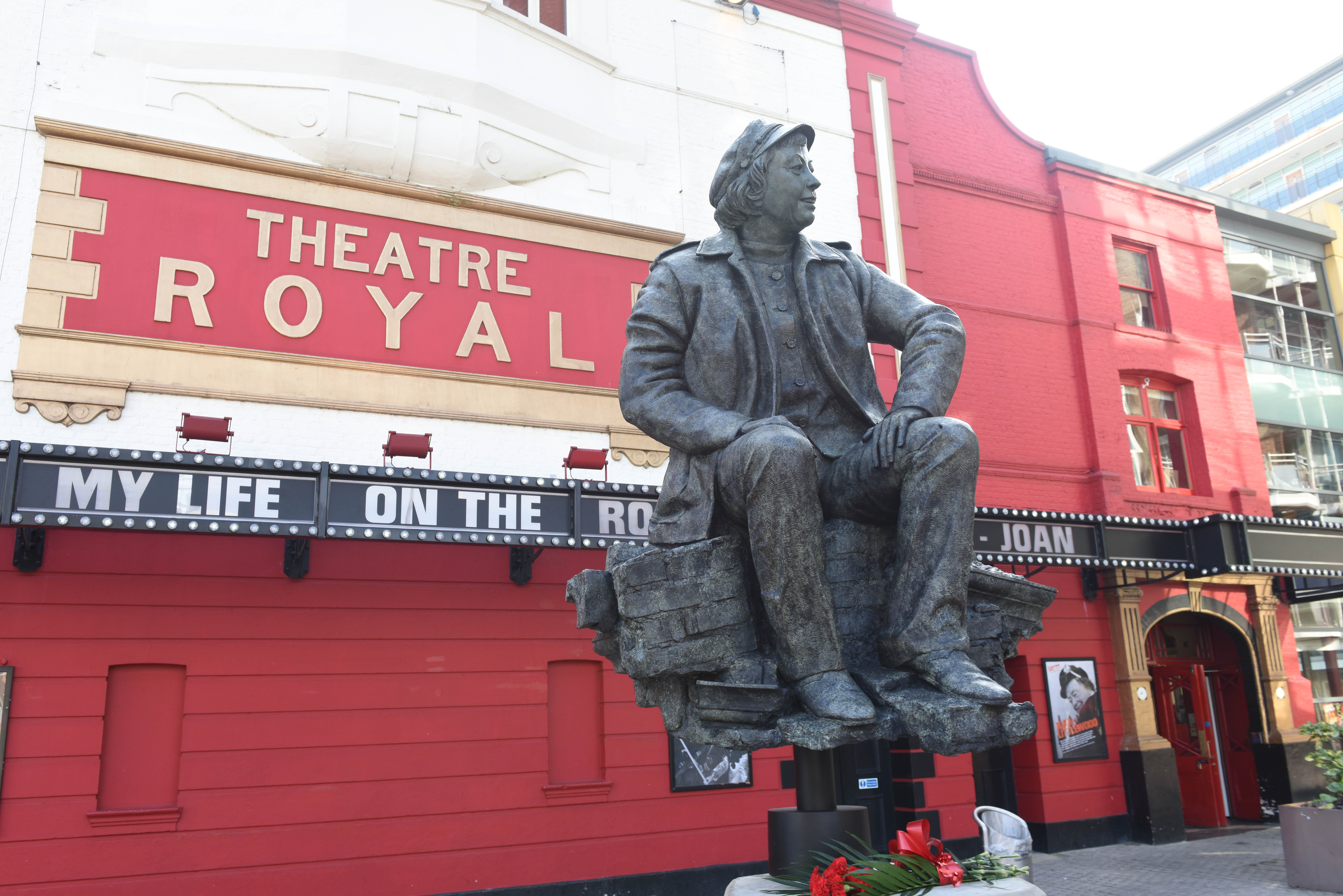 Joan Littlewood Sculpture Unveiled Outside Theatre Royal