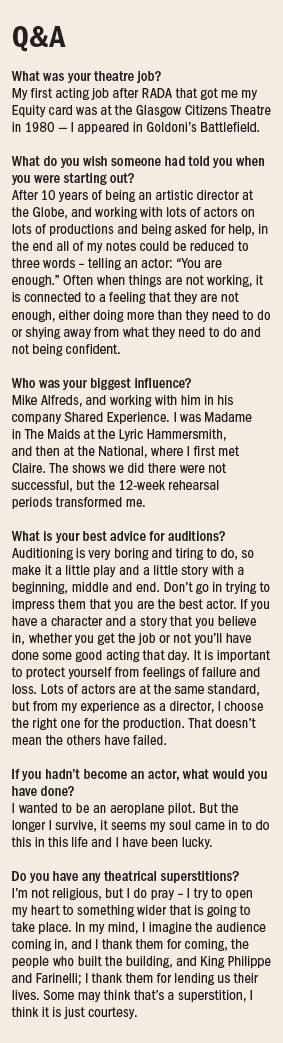 Mark Rylance Q&A