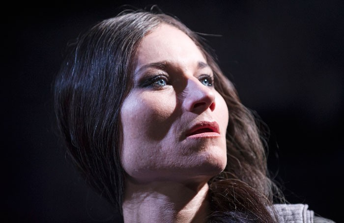 Kate Fleetwood in Medea at the Almeida Theatre. Photo: Tristram Kenton