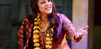 Meera Syal in Much Ado About Nothing at the Courtyard Theatre, Stratford-upon-Avon, in 2012. Photo: Tristram Kenton