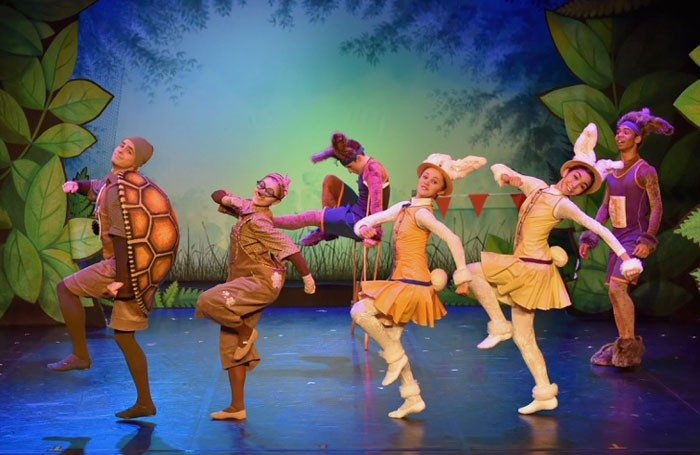 Northern Ballet dancers in Tortoise and the Hare. Photo: Brian Slater
