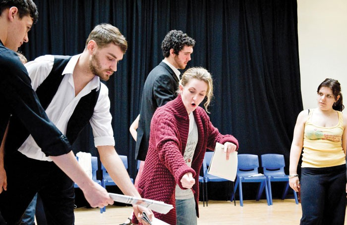 Students at Liverpool Institute of Performing Arts. Photo: Pete Carr