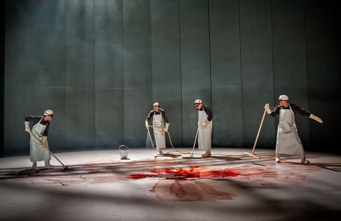 Richard III at West Yorkshire Playhouse. Photo: Anthony Robling
