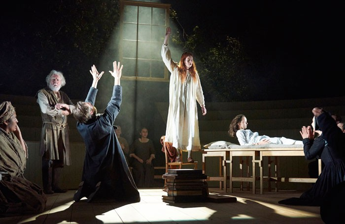 A scene from The Crucible at Bristol Old Vic. Photo: Geraint Lewis