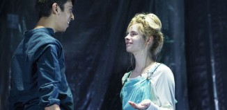 Scene from the National Youth Theatre's production of Wuthering Heights. Photo: Helen Maybanks