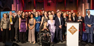 UK Theatre Awards 2015 winners. Photo: Matt Humphreys
