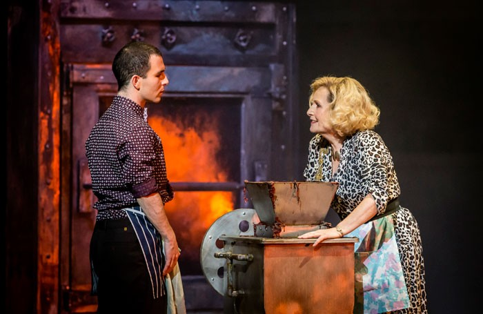 George Ure and Janis Kelly in Sweeney Todd at Wales Millennium Centre, Cardiff. Photo: Johan Persson