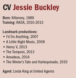 cv Jessie Buckley