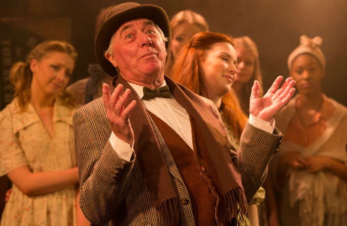 James Horne in Phil Willmott's production of Finian's Rainbow at the Union Theatre. Photo: Scott Rylander
