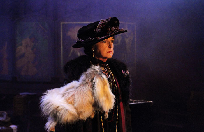 Penelope Keith in Mrs Pat at the Minerva, Chichester Festival Theatre. Photo: Catherine Ashmore