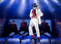 Dajiow as Michael Jackson in Thriller Live. Photo: Irina Chira