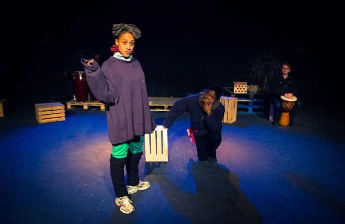 Ayesha Casely-Hayford and Olivette Cole-Wilson in Where Will We Live? at Southwark Playhouse. Photo: Dashti Jahfar