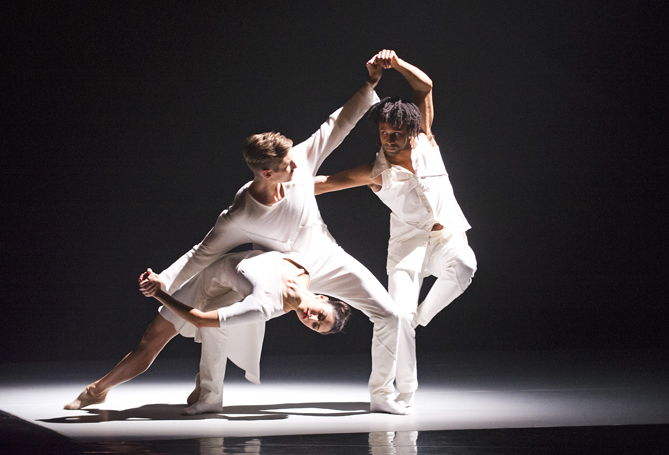 The 3 Dancers as part of Love, Art and Rock n' Roll at Sadler's Wells. Photo: Tristram Kenton