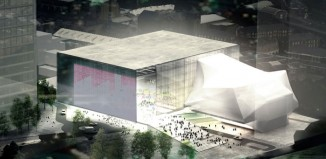 Architects' impression of the Factory theatre in Manchester. Photo: OMA