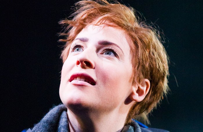 Rosalie Craig in As You lIke It at the Olivier, National Theatre. Photo: Tristram Kenton