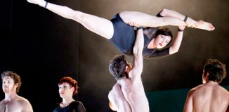 Australian circus company Circa will mount a new tour thanks to the funding. Photo: Sean Young