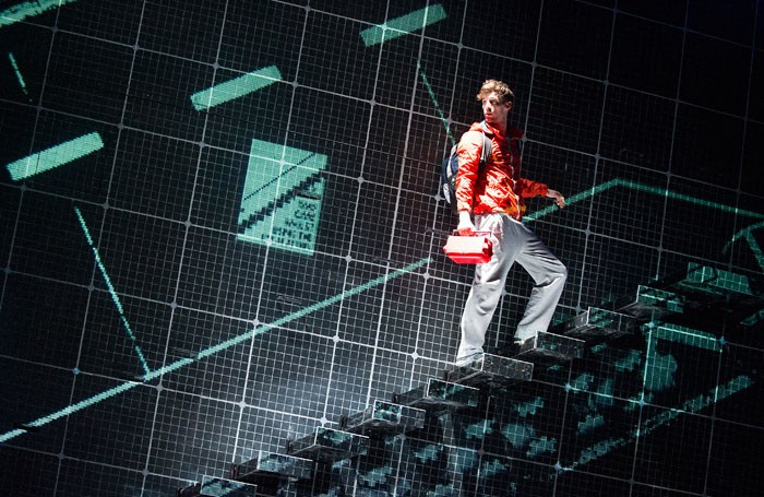 The Curious Incident of the Dog in the Night-Time. Photo: Tristram Kenton