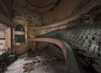 Interior of Empire Theatre in Burnley