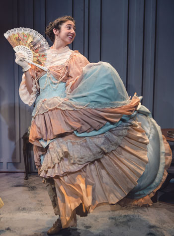 Daisy May in Gigi, at the Tabard Theatre. Photo: Richard Davenport