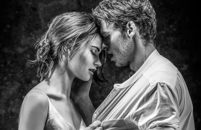 Lily James and Richard Madden, who will star in Romeo and Juliet next year at the Garrick Theatre. Photo: Johan Persson