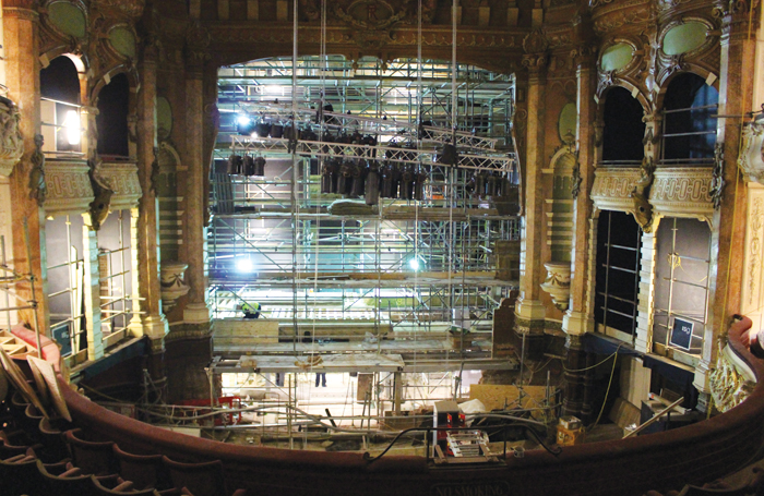 Backstage At Portsmouth Theatre Royal S Refurbishment