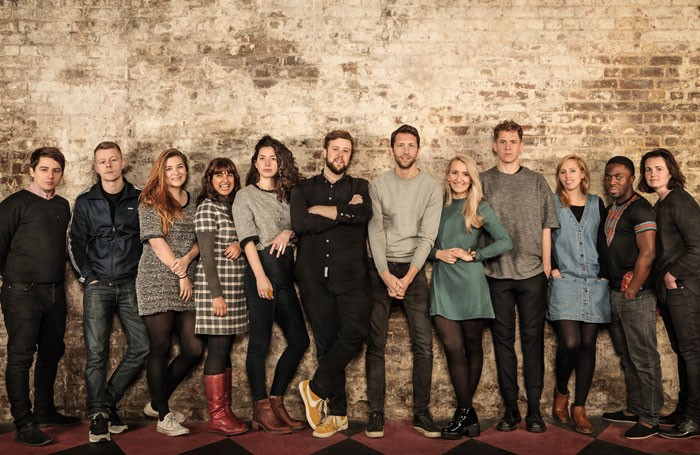 The 12 winners in the Old Vic new talent scheme