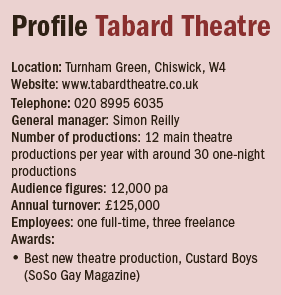 Profile Tabard Theatre