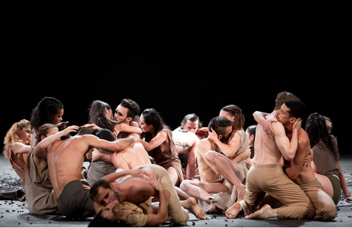 Sacre at Sadler's Wells, London. Photo: Bernd Uhlig