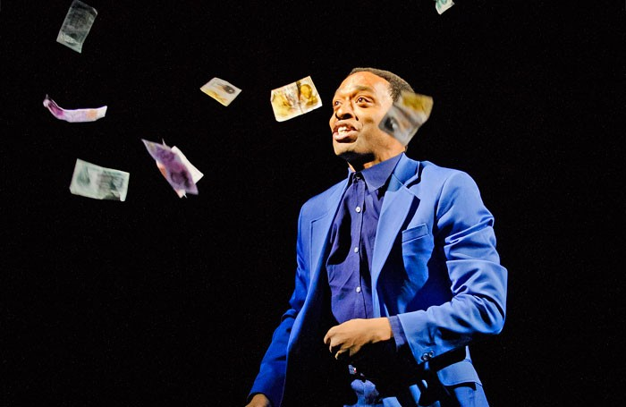 The report suggests subsidised productions such as the National Theatre's Everyman starring Chiwetel Ejiofor help support commercial theatre. Photo: Tristram Kenton