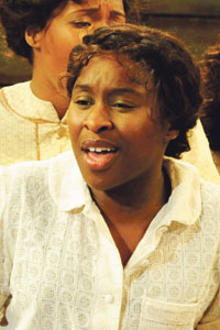 Cynthia Erivo in The Color Purple. Photo: Nobby Clark