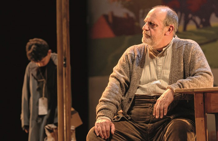 Alex Taylor-McDowall and David Troughton in Goodnight Mister Tom. Photo: Dan Tsantilis