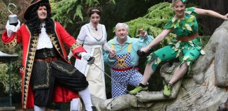Cast of Peter Pan at Malvern Theatres