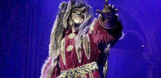 Tom Senior in Beauty and the Beast at the Capitol Theatre, Horsham. Photo: Stephen Candy