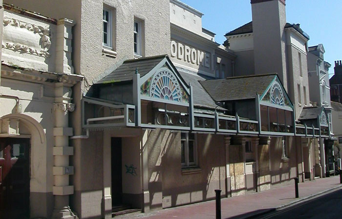 Brighton Hippodrome, which has been given £45k towards its restoration