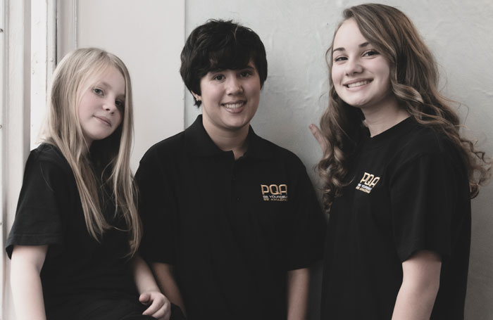 Brooke-Skinner,-Gabriella-Songui--and-Abigail-Collins,-Pauline-Quirke-Academy-of-Performing-Arts
