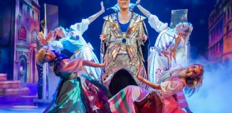 Gok Wan as the Fairy Gokmother in Cinderella at Theatre Royal Plymouth. Photo: Alastair Muir