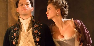 Dominic West and Janet McTeer in Les Liaisons Dangereuses at the Donmar Warehouse. Photo: Johan Persso