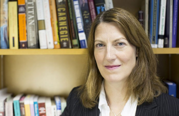 Dr Beth Breeze, who co-authored the Million Pound Donors report. Photo: University of Kent