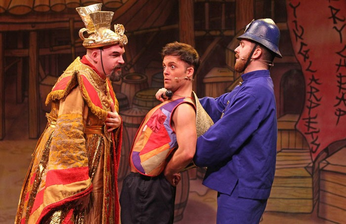 Scene from Aladdin at the Millennium Forum, Londonderry