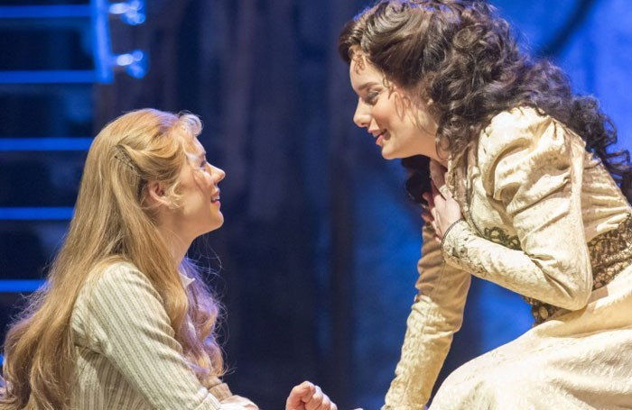 Gina Beck and Rebecca Trehearn in Show Boat at Sheffield's Crucible Theatre. Photo: Johan Persson