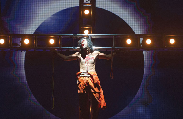 Forster in Jesus Christ Superstar. Photo: Tristram Kenton