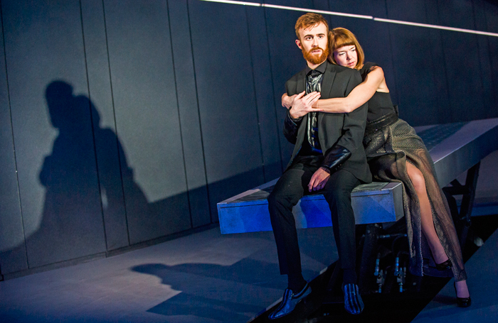 John Heffernan and Anna Maxwell Martin in Macbeth at the Young Vic Theatre. Photo: Tristram Kenton