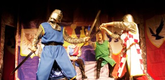 Oddsocks Theatre Company's production of The Legend of King Arthur