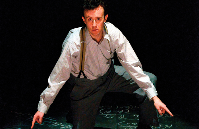 Heffernan as the title character in Oppenheimer. Photo: Keith Pattison