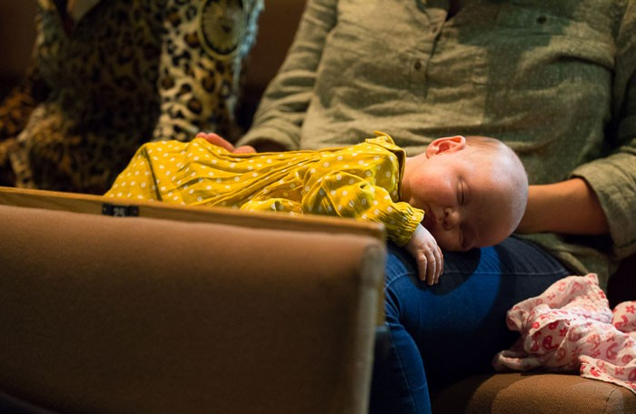Parents with babies will be welcome to attend a performance at the Royal Court, London, later this month. Photo: Abby Warren