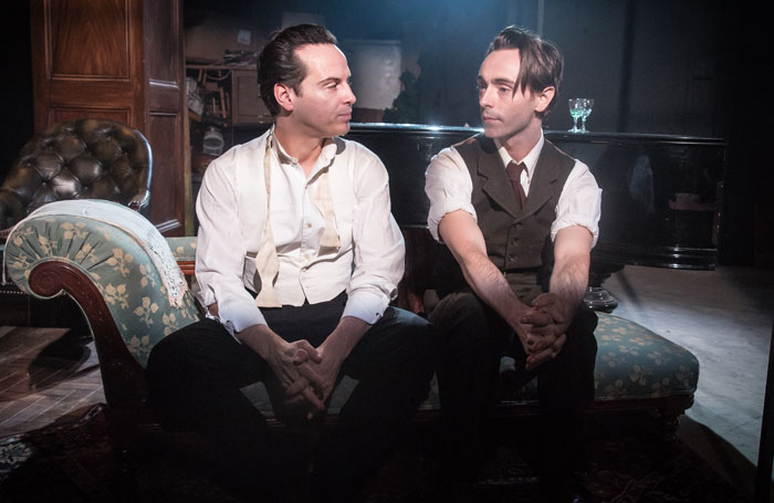 Andrew Scott and David Dawson in The Dazzle at Found 111, London. Photo: Marc Brenner