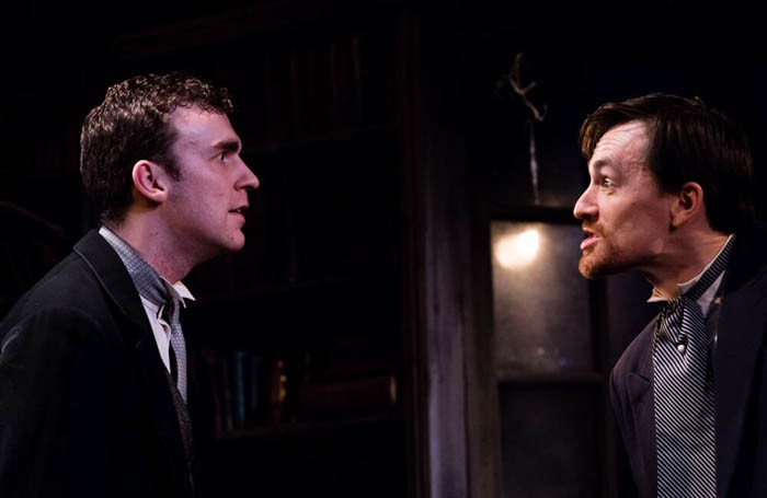 Robert Durbin and Jamie Laird as David Filde and Lord Gray