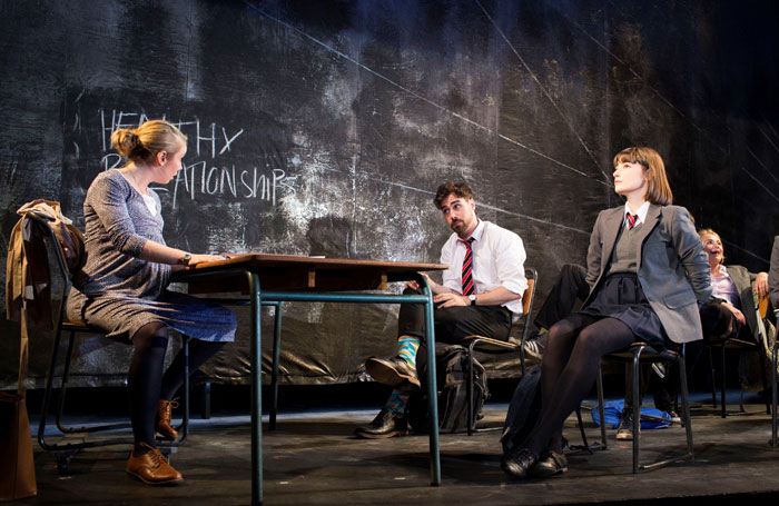 The National Youth Theatre production of Consensual at the Ambassadors Theatre. Photo: Helen Maybanks