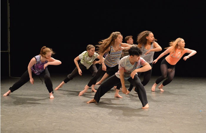 Youth Dance England's Young Creatives 2014 performance