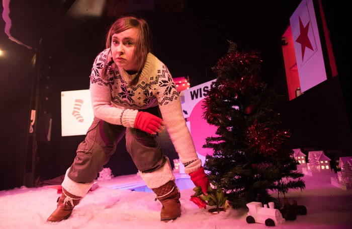 Stephanie McGregor in Flora's Fairy Challenge at Glasgow's Citizens Theatre. Photo: Alex Brady